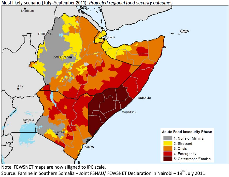 Famine In East Africa Solutions Exist In Africa OECD Insights Blog - Eastern african map